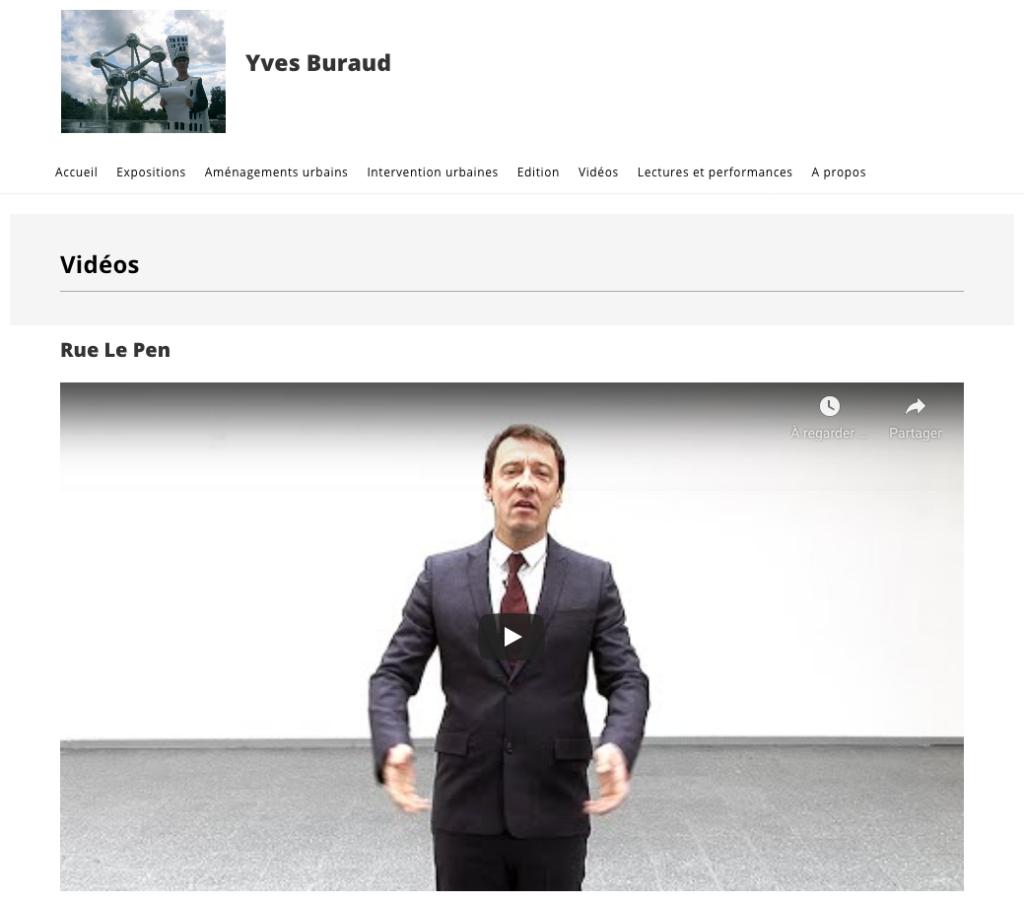 Création site Web d'artiste
