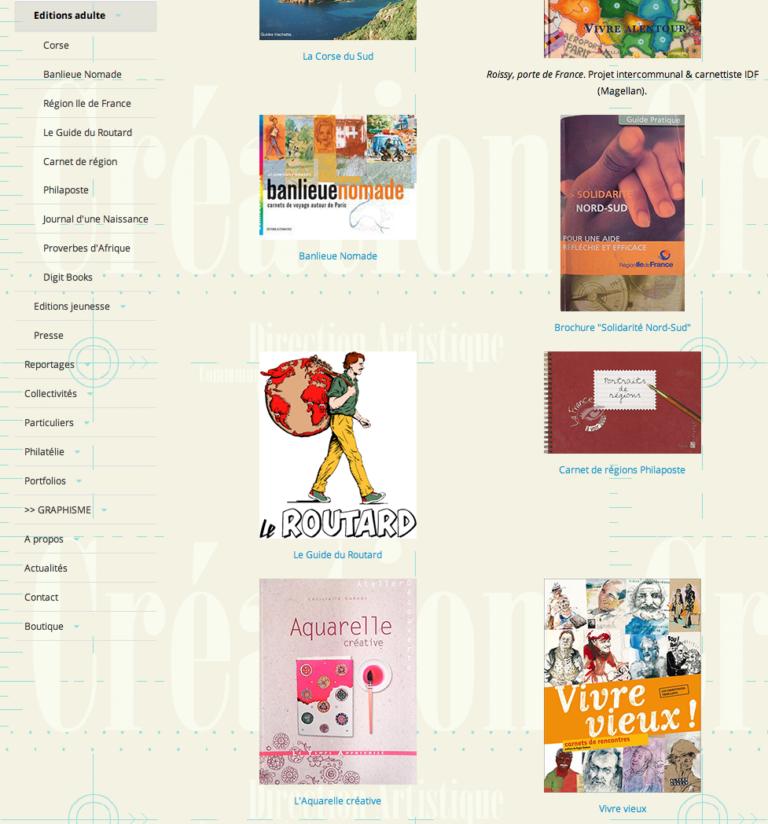 Site illustratrice