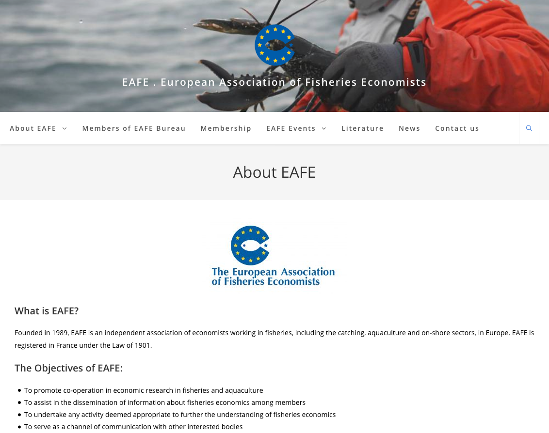 About EAFE – EAFE