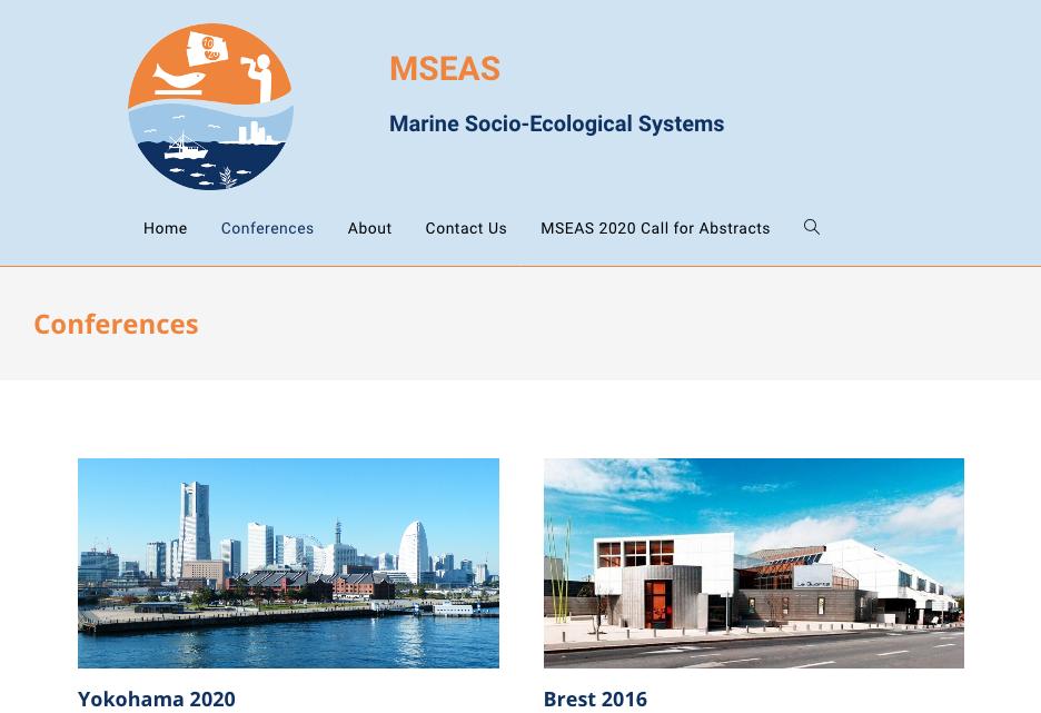 Design site écologie marine