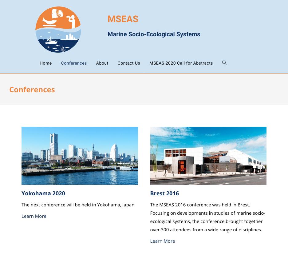 Conferences MSEAS