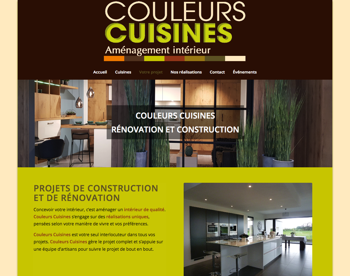 Couleurs Cuisines à Brest gère vos projets de construction et rénovation