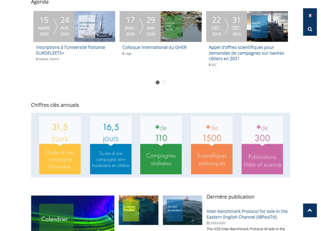 Site web de la FOF infographie