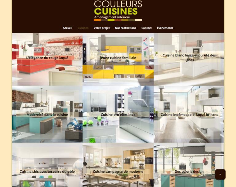 Styles de cuisine, site web